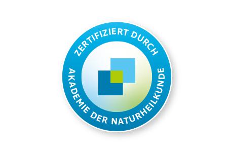 Logo - Zertifiziert durch Akademie der Naturheilkunde